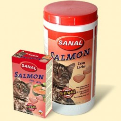 Vitamíny Sanal lososové pro kočky