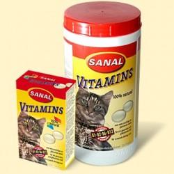 Vitamíny Sanal calcium pro kočky