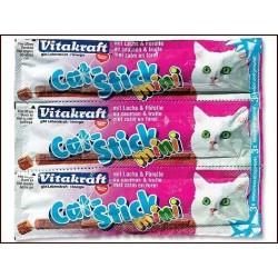 Tyčinky VITAKRAFT Cat Stick Mini losos + pstruh (3 ks)