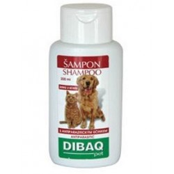Šampon DIBAQ Pet antiparazitní