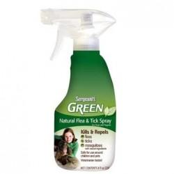 Antiparazitní spray Sergeanťs Green pro psy