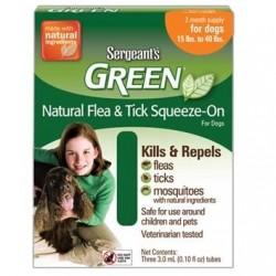 Spot On Sergeanťs Green antiparazitní kapky pro psy 12-30kg