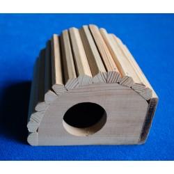 Domeček pro malé hlodavce dřevěný
