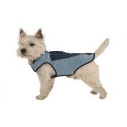 Obleček vesta softshell BUSTER, modrá
