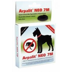Antiparazitní obojek ARPALIT NEO 7M, 66 cm, černý