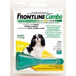 Spot On FRONTLINE Combo antiparazitní kapky S pro psy od 2 - 10 kg