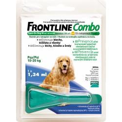 Spot On FRONTLINE Combo antiparazitní kapky M pro psy od 10 - 20 kg