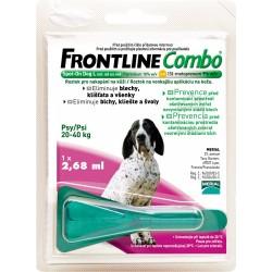 Spot On FRONTLINE Combo antiparazitní kapky L pro psy od 20 - 40 kg