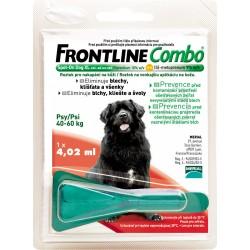 Spot On FRONTLINE Combo antiparazitní kapky XL pro psy od 40 - 60 kg
