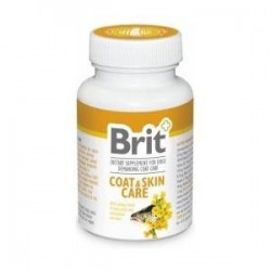 Brit Vitamins Coat & Skin Care 60tbs