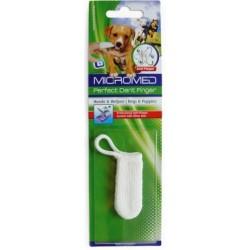 Zubní kartáček na prst MICROMED pro psa