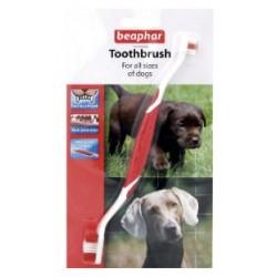 Zubní kartáček Beaphar double