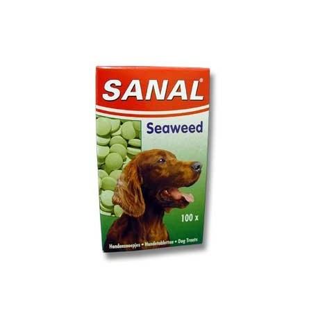 Vitamíny SANAL seaweed s mořskou řasou pro psy