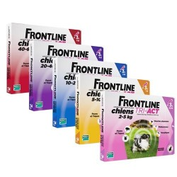 Spot On FRONTLINE Tri-Act XS (2-5kg)