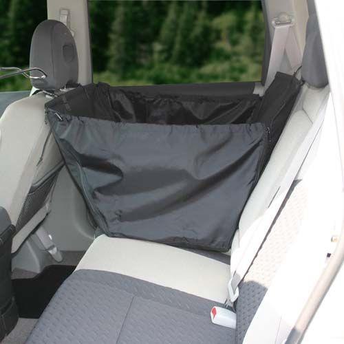 Závěsné lůžko GreenDog do auta na zadní sedačky, jednosedačkové