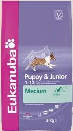 Eukanuba Puppy & Junior, Medium breed