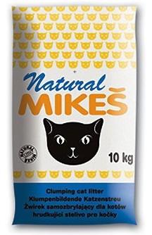 Mikeš NATURAL podestýlka kočka pohlc. pachu, 10kg