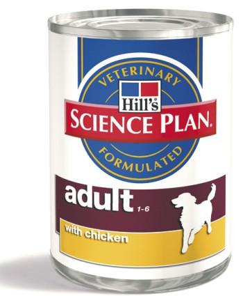 Hill's Canine konzerva Adult, kuře