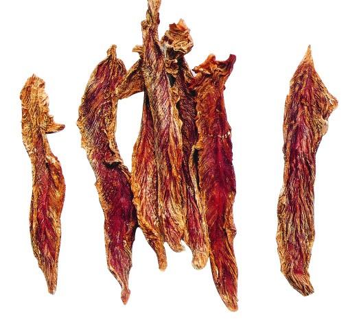 Sušené kachní maso jerky WANT, měkké, 500g