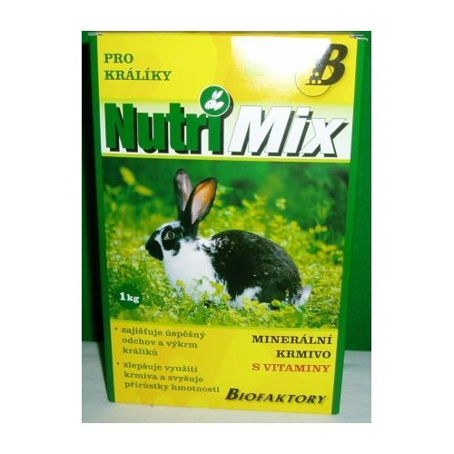 Krmivo Nutri Mix pro králíky