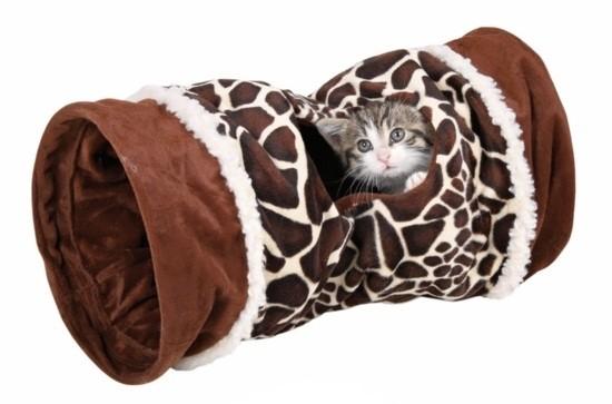 Tunel plyšový pro kočky VELVET