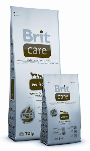 BRIT Care Venision, zvěřina a brambory