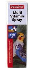 Multivitaminový spray pro střední ptáky