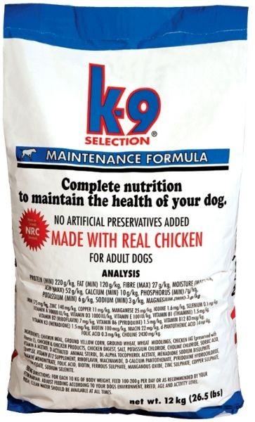 K-9 maintenance large breed kuřecí pro dospělé psy velkých plemen