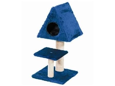 Odpočívadlo, škrábadlo pro kočky DENISSA s domkem ()