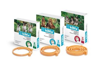 Antiparazitní obojek KILTIX 70 cm pro velké psy