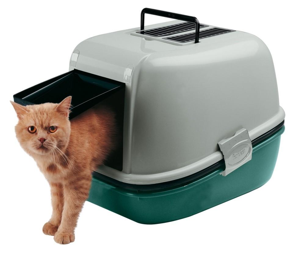 WC pro kočku MAGIX s krytem