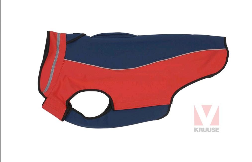 Obleček BUSTER softshell, červeno-modrá