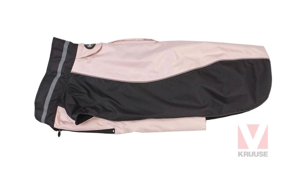 Obleček WINTER softshell, černo-růžová