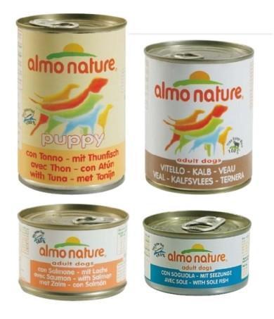 Almo Nature tuňák konzerva pro štěňata
