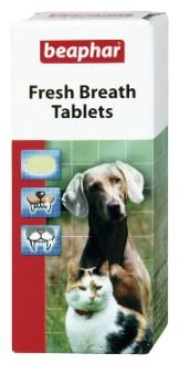 Dentální tablety BEAPHAR Fresh Breath pro psy a kočky