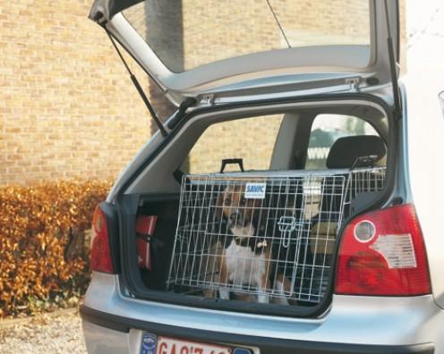 Klec do auta skosená DOG RESIDENCE šířka 91 cm