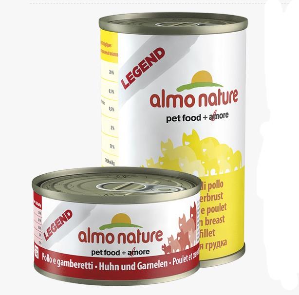 Almo Nature kuřecí prsa konzerva 140g
