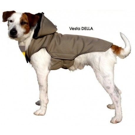 Vesta pro psa DELLA s kapucou