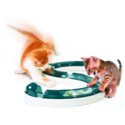 Kulodráha horská s míčkem - hračka pro kočky
