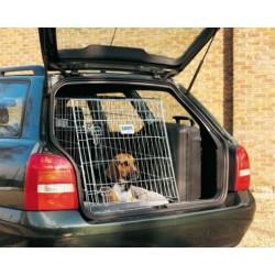Transportní klec kovová skosená DOG RESIDENCE, 76 x 53 x 61 cm