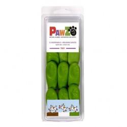 Botičky Pawz kaučuk zelené